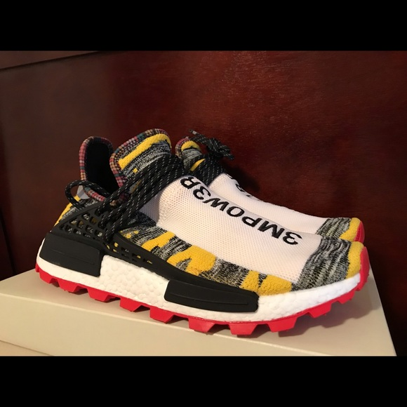 65c5b5a61 adidas Other - adidas NMD Hu Pharrell Solar Pack Red